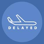 icono retraso vuelo
